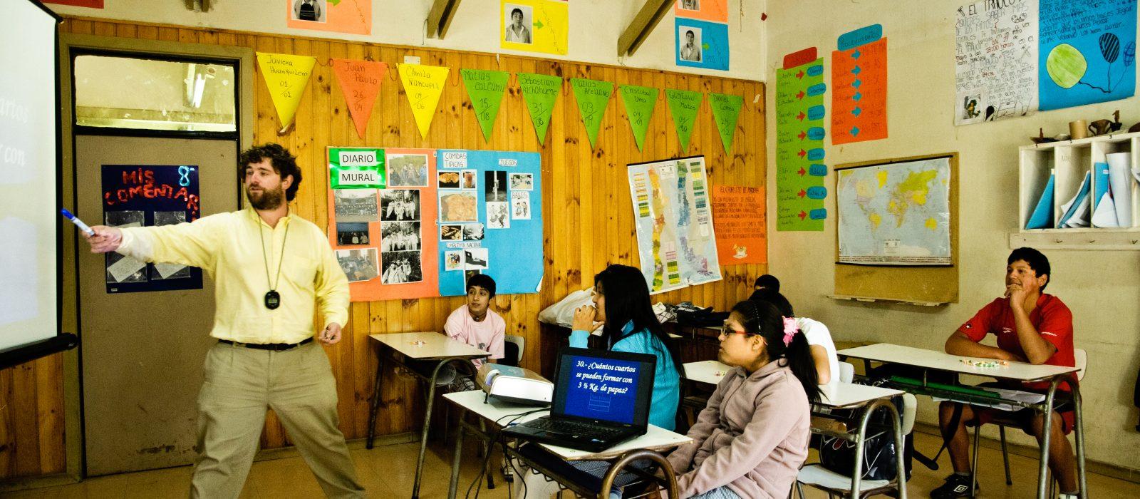 Enseña Chile Transformando el país desde la sala de clases