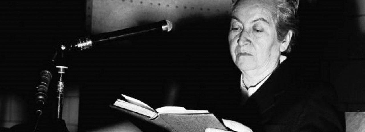 ¿Cuál era el pensamiento de Gabriela Mistral sobre la pedagogía?