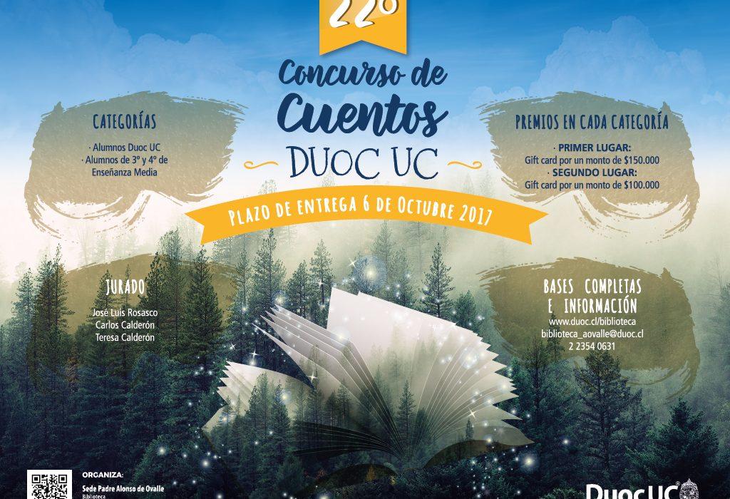 Duoc UC organiza concurso de Cuentos
