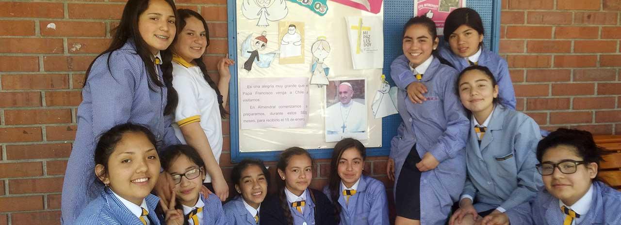 ¿Cómo se están preparando para la venida del Papa Francisco a Chile?