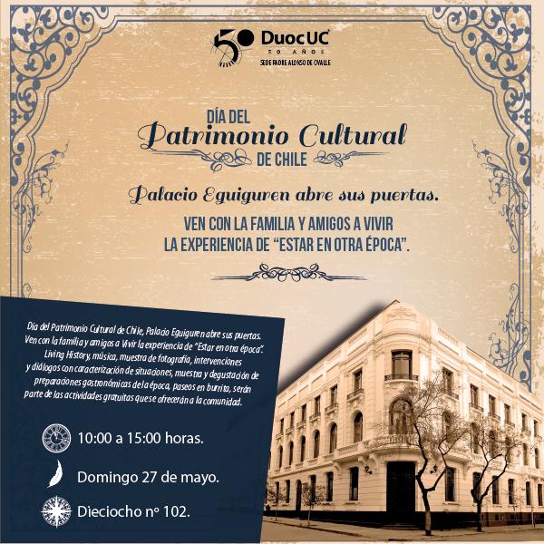 Palacio Eguiguren abre sus puertas en los 20 años del Día del Patrimonio Nacional