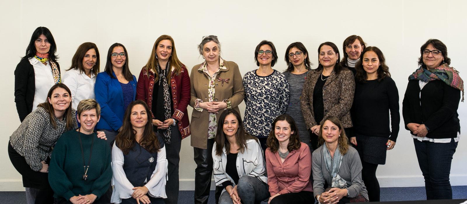 Red de mujeres Líderes en Formación Técnico Profesional