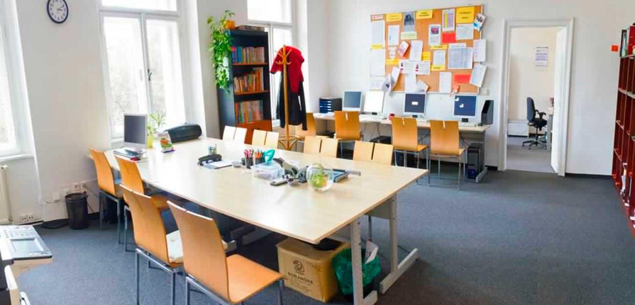 ¿Cómo debe ser una sala de profesores?
