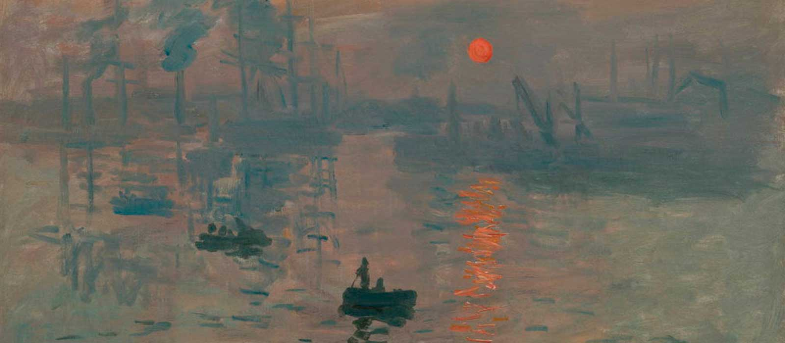 Representación del sol en el arte: Olafur Eliasson /  Claude Monet