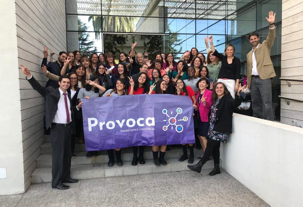 """Lanzan campaña """"PROVOCA""""  que busca promover vocaciones científicas en niñas"""