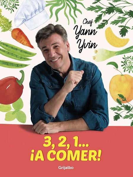 3, 2, 1… ¡A comer! el libro que busca acercar a los niños al proceso culinario.