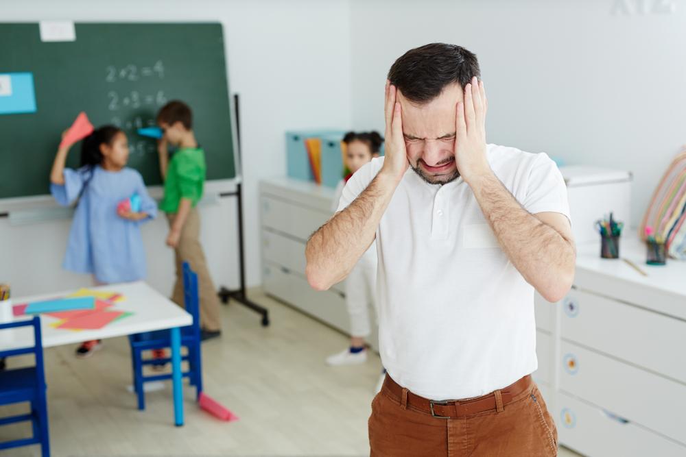 Profesores, ¿por qué se estresan?
