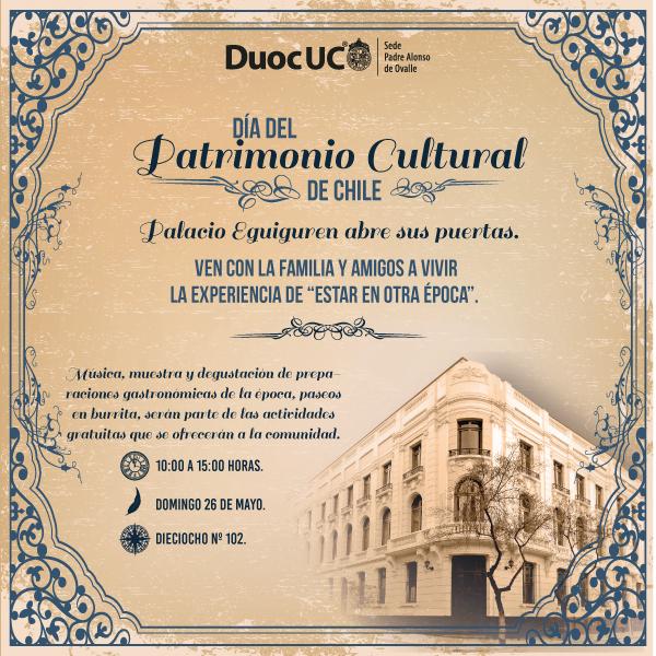 Palacio Eguiguren una vez más abre sus puertas en el Día del Patrimonio Nacional