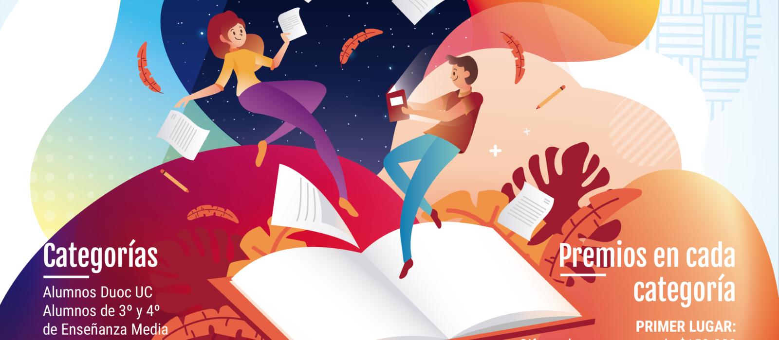 Duoc UC da inicio al 24° concurso de cuentos