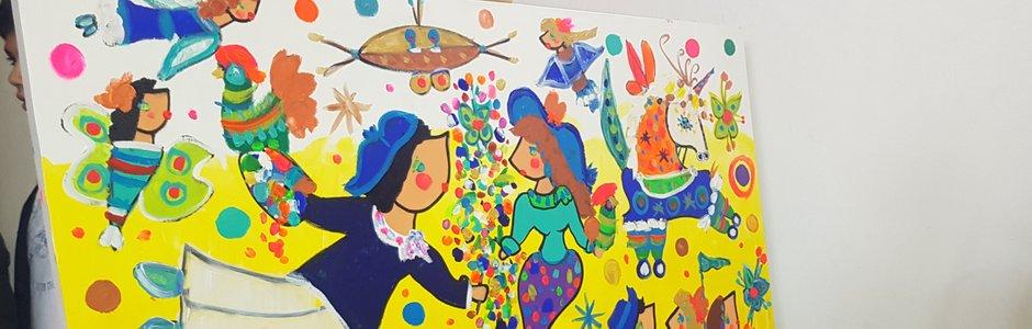 Infancia en Colores: en estas vacaciones de invierno la infancia se llena de colores en el GAM