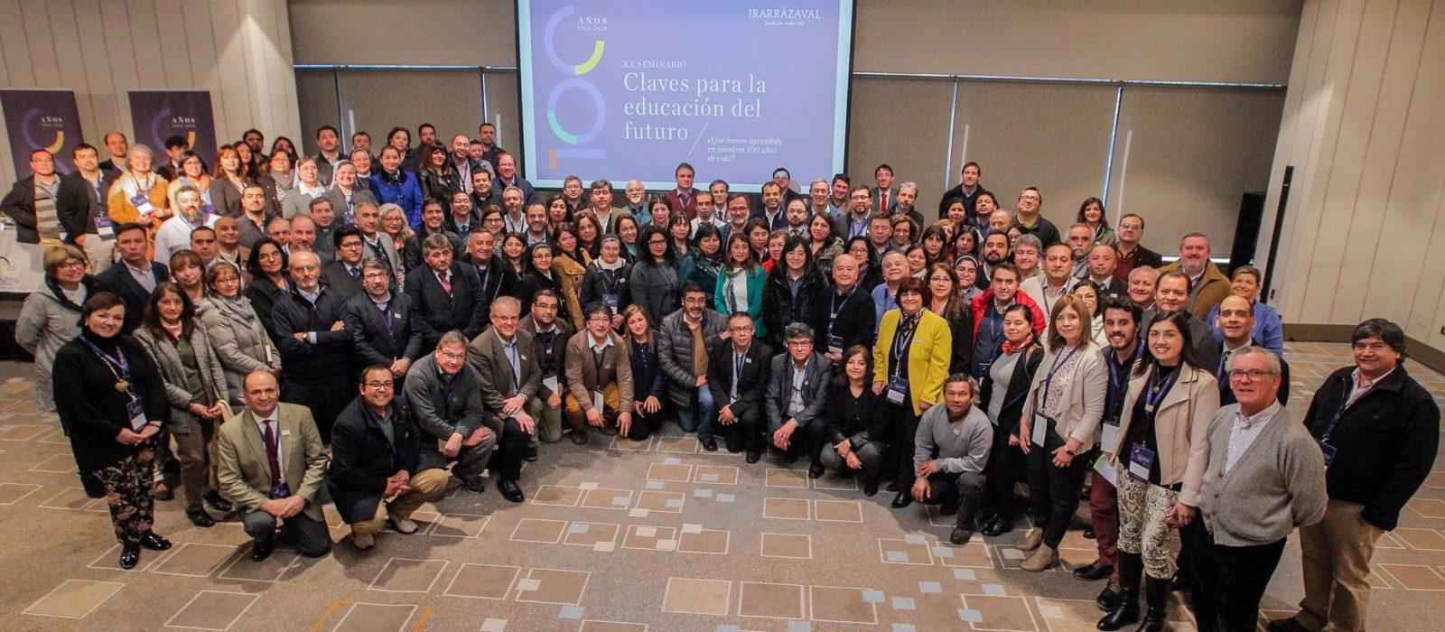 Fundación Irarrázaval comienza celebración de 100 años con exitoso Seminario Nacional