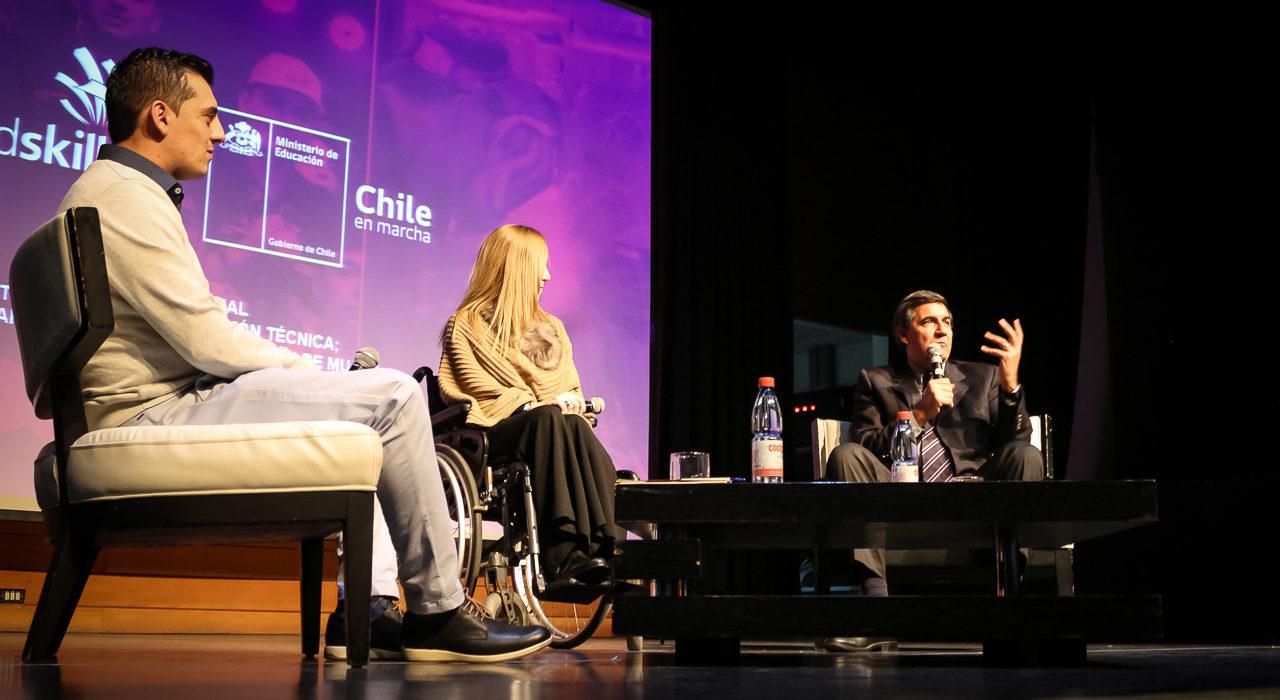 Rol de la mujer en el mundo Técnico Profesional fue el tema principal del Seminario Worldskills Chile