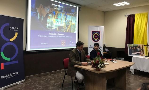 Seminario aborda las claves para afianzar la relación entre colegios técnicos y empresa en La Serena