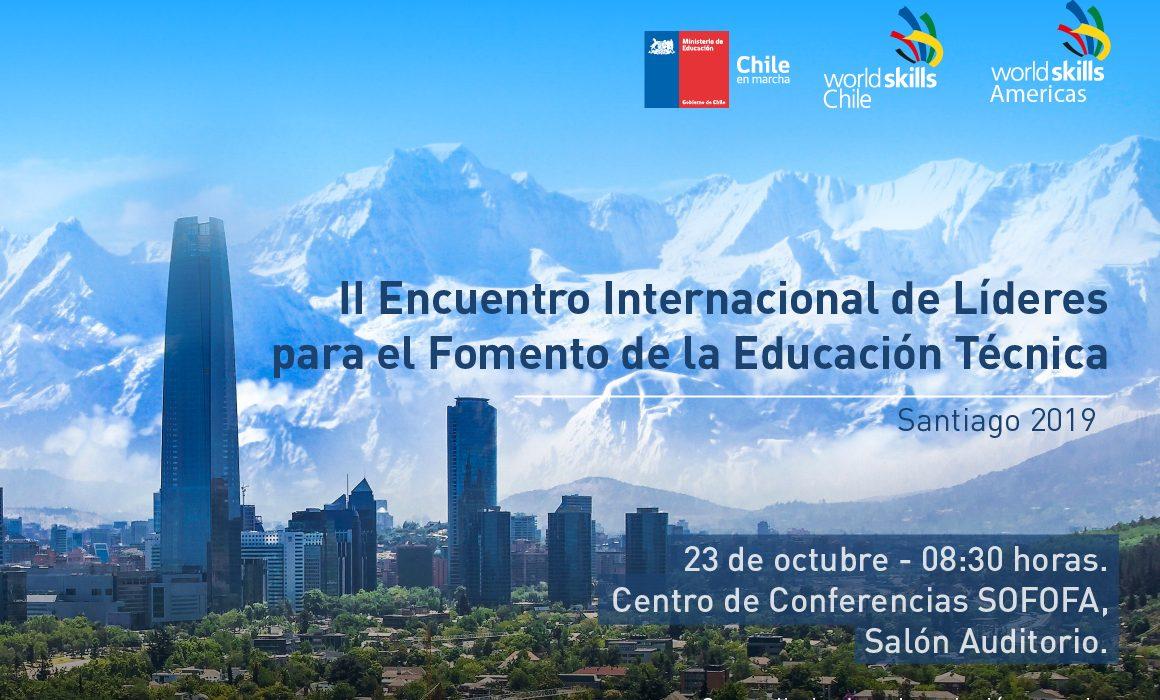 Este 23 de octubre: Encuentro Internacional de Líderes para el Fomento de la Educación Técnica