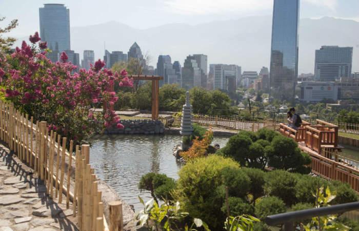 Jardín Japonés en Parque Metropolitano