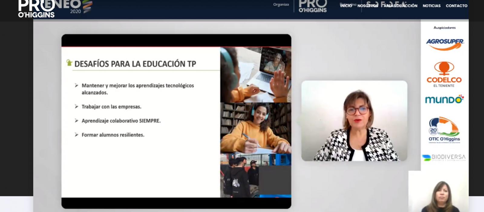 """Grupo Educar participa en ENEO 2020 sobre """"Oportunidades y desafíos para la Educación Técnica profesional"""""""