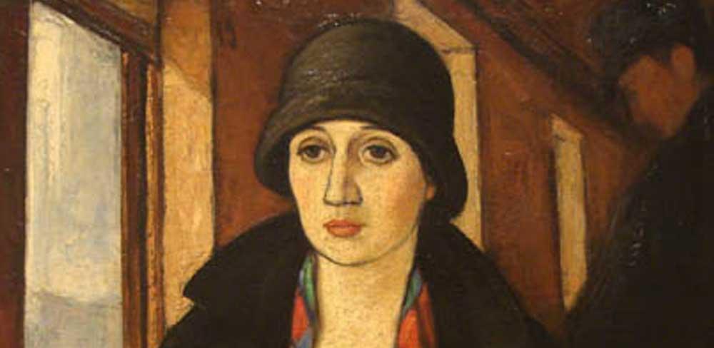 Camilo Mori:  La viajera (1928)