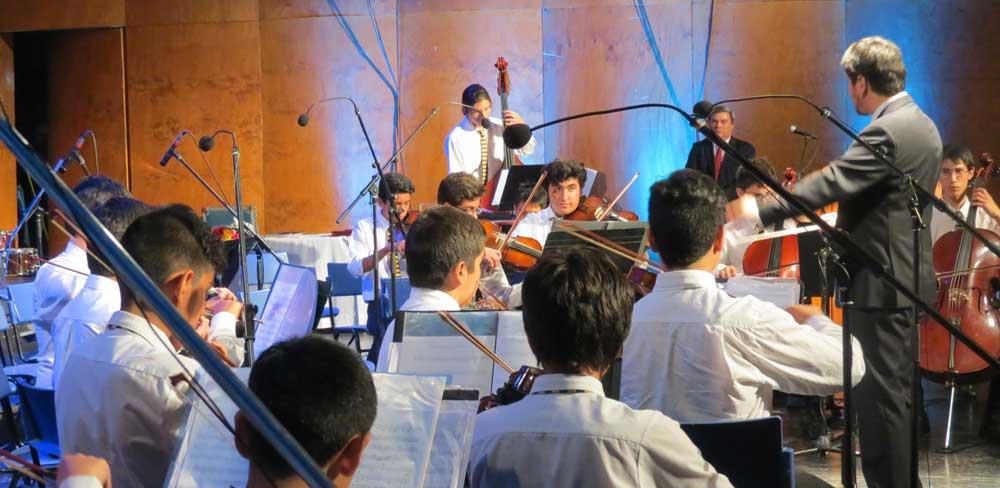 Orquesta del Colegio, creadores de sueños que trascienden