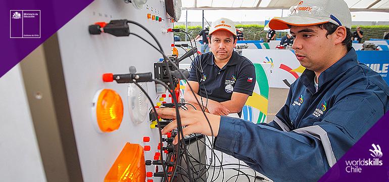 Comienzan las Olimpiadas de Habilidades Técnicas WorldSkills Chile 2020