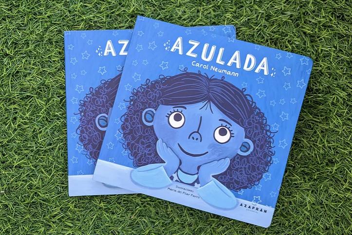 Azulada, el libro de Carol Neumann que busca fomentar la inclusión en los más pequeños