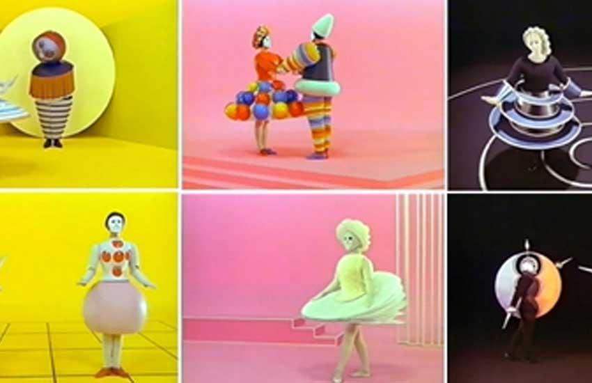 ¿Cómo me siento hoy?: Transitando por las emociones en el arte  El Ballet Triádico: Color y Geometría Espacial