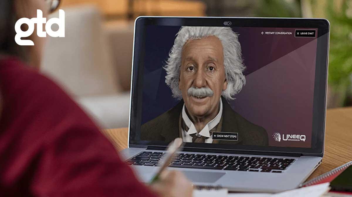 Albert Einstein Digital: Conversa con el científico en tiempo real