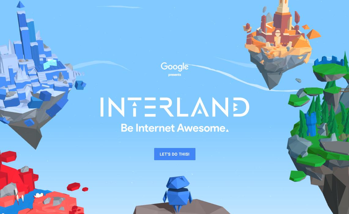 Interland: el juego de Google que enseña a navegar seguro